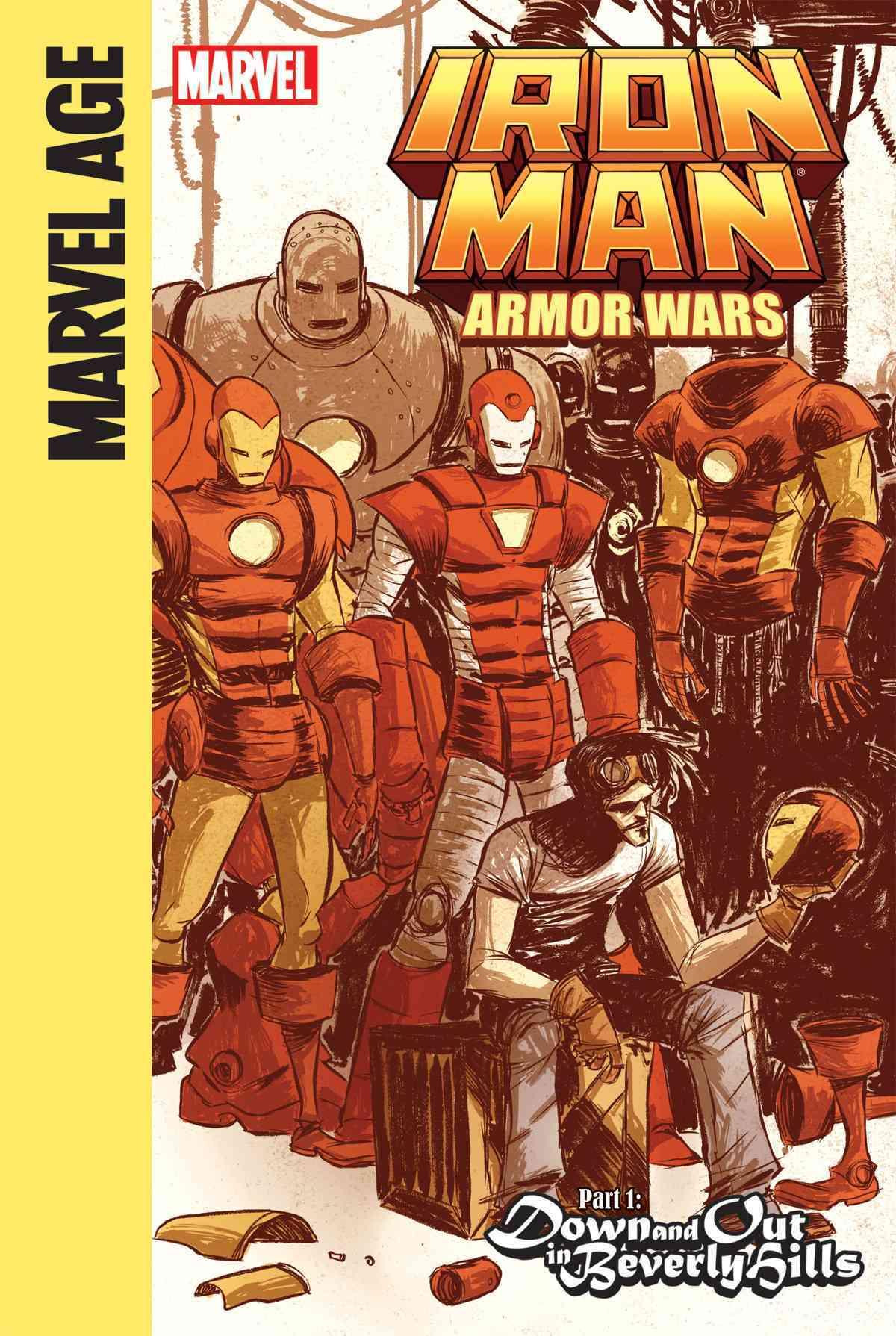 Iron Man and the Armor Wars 1 By Caramagna, Joe